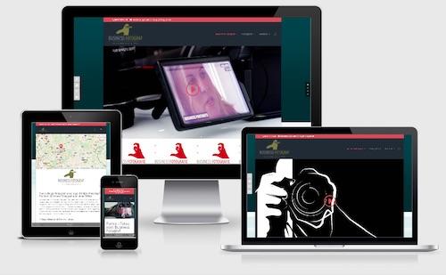 Multimediale Homepage – Der Business Fotograf