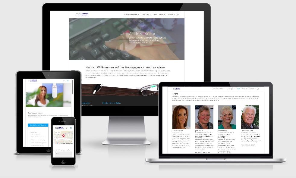 Homepage Webdesign – Büroservice