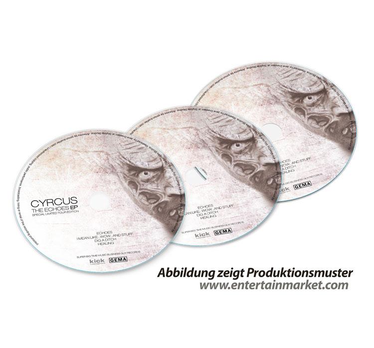Auch diese CD Produktion erhielt bei entertainmarket.com ihre Herstellung
