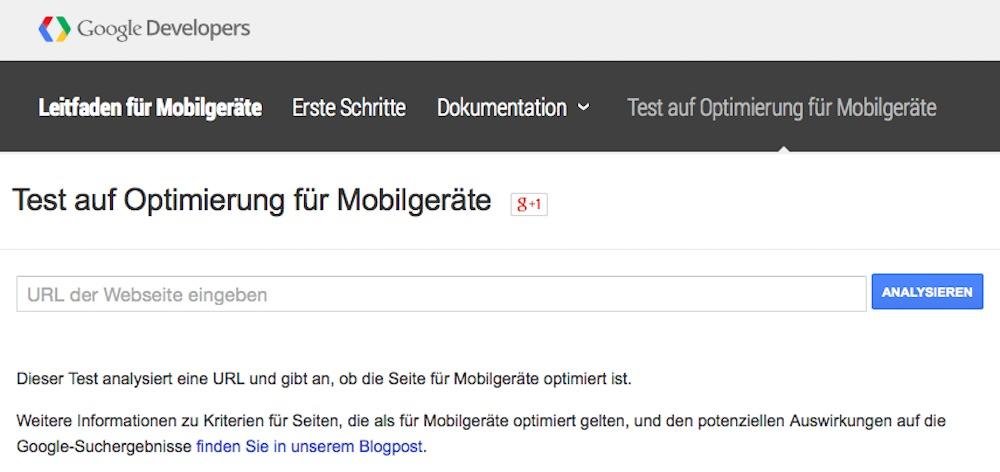 Google-Test-auf-Optimierung-fuer-Mobilgeraete
