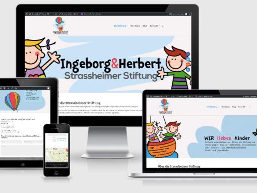 Homepage für Strassheimer Stiftung