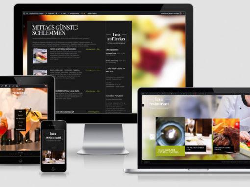Lava Restaurant Usingen Webseite erstellen