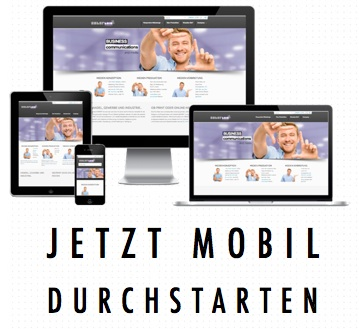 Mobile Webseiten für eine aktuelle Firmenhomepage erstellen