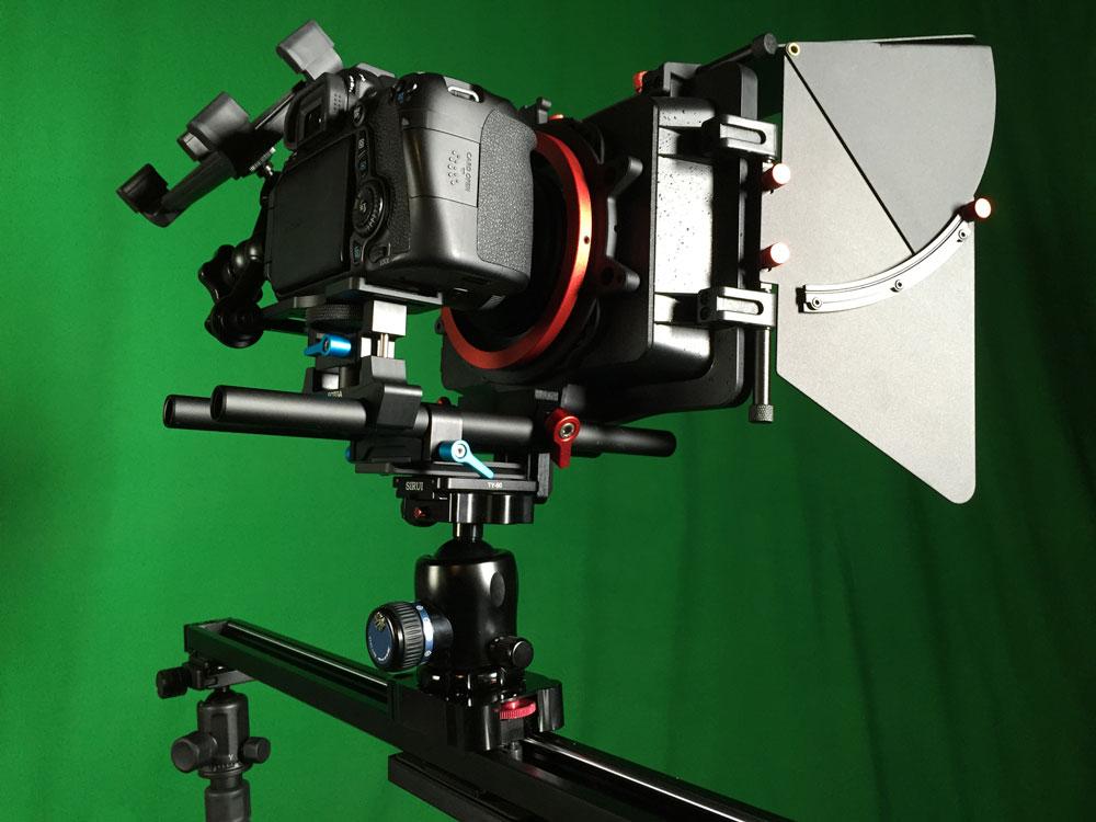 Kamerafahrten mit Slider oder Dolly in der Videoproduktion