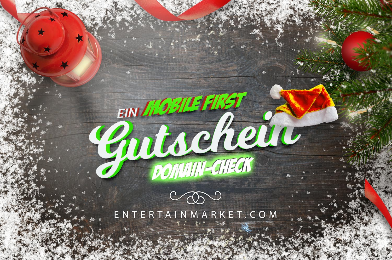 Mobile First Domain-Check Gutschein 2020