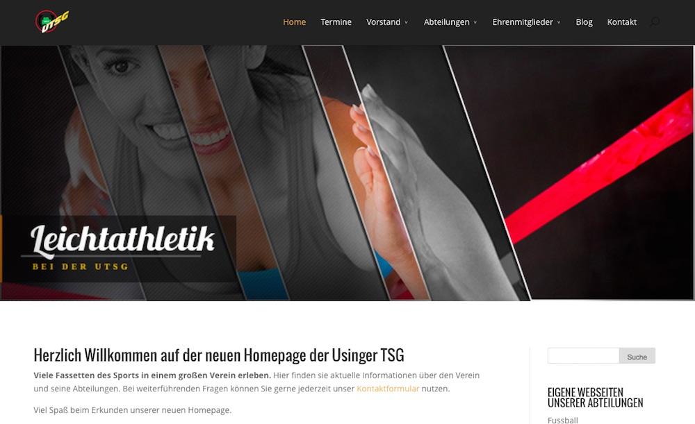 Verein mit 2000 Mitgliedern erhält mobile friendly Homepage