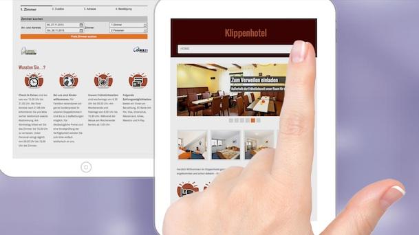 DEMO einer responsiven Website mit dynamischem Online-Shop im responsiven Webdesign