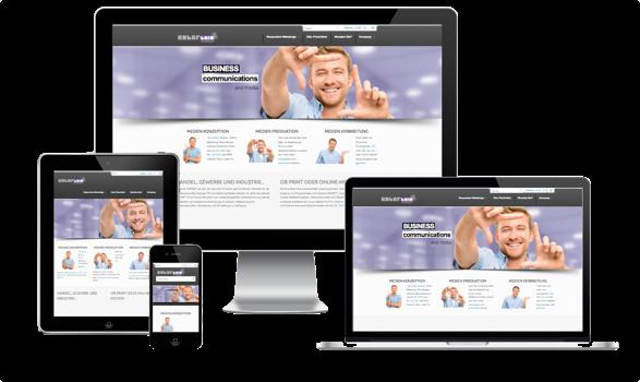 Responsive Webdesign Agentur für mobile Webseiten