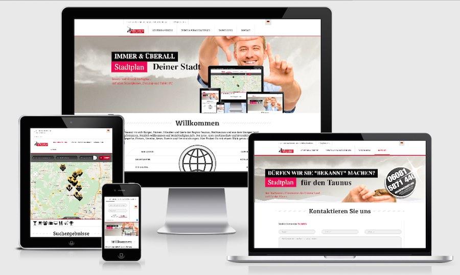 Homepage Webdesign für Tourismus und Gewerbe