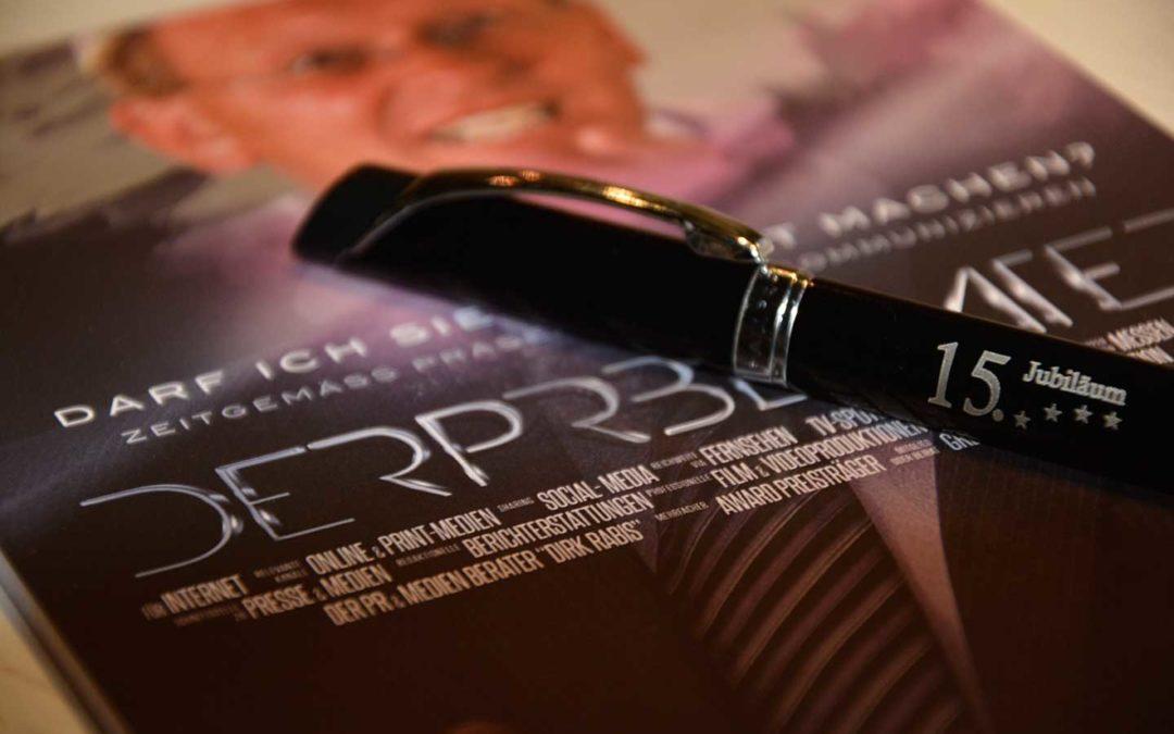 Werbeagentur und Internetagentur Usingen feiert 15 Jahre Jubiläum