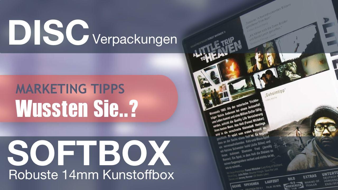 Marketing via CD, DVD, Blu-ray und deren Verpackung