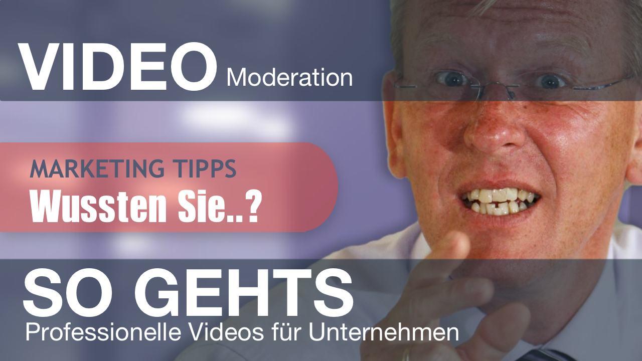 Online Video Moderation Sprecher und Moderatoren