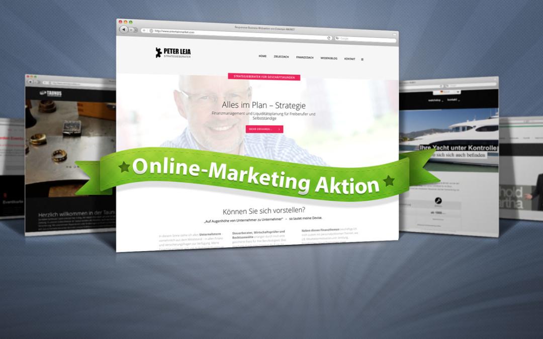 15 neue Business Webseiten für mobiles Internet